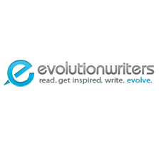 EvolutionWriters review logo